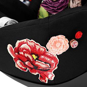 Siège auto gr0+ CLOUD Z I-SIZE Cybex Spring Blossom Dark-black