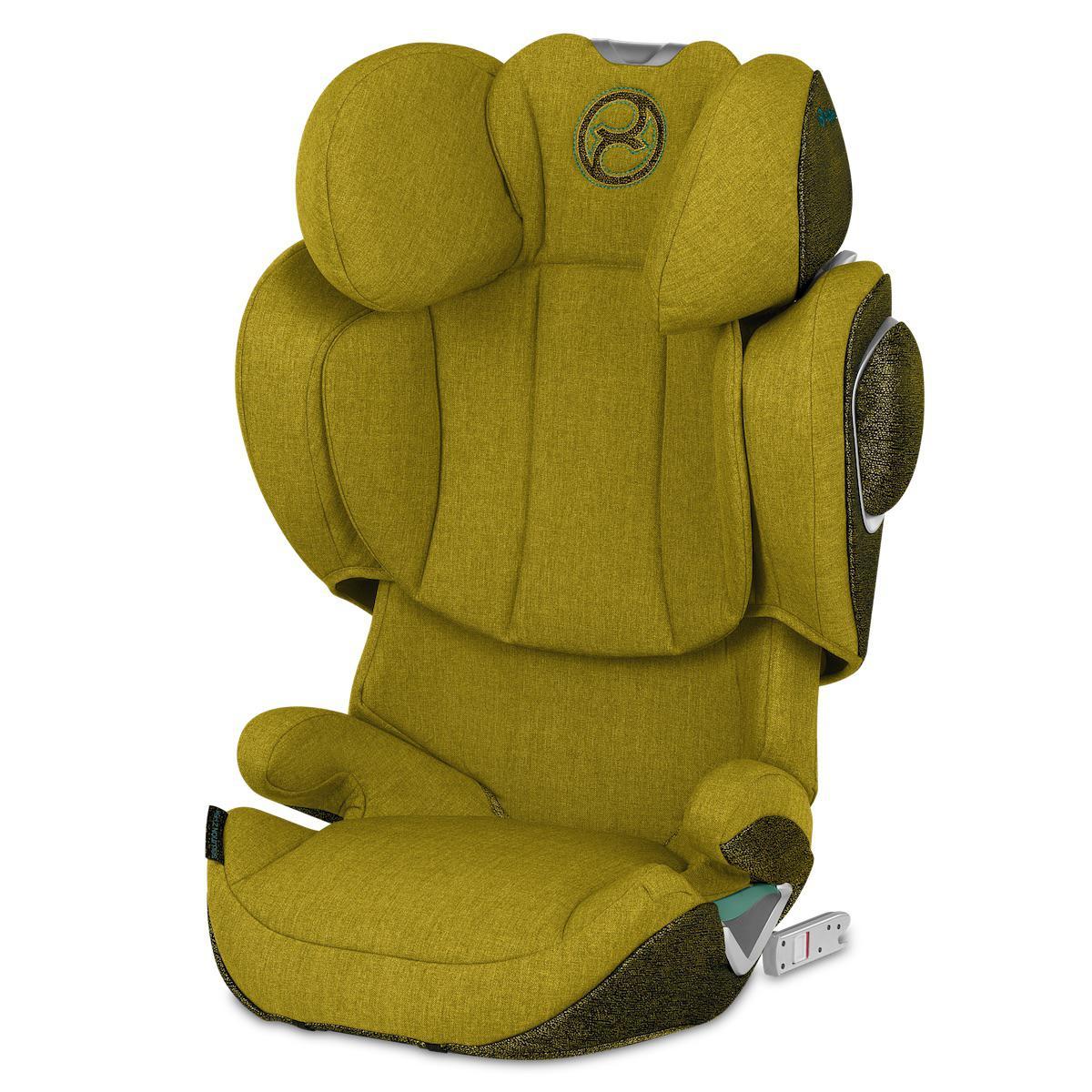 Siège auto gr2/3 SOLUTION Z I-FIX PLUS Cybex Mustard yellow-yellow