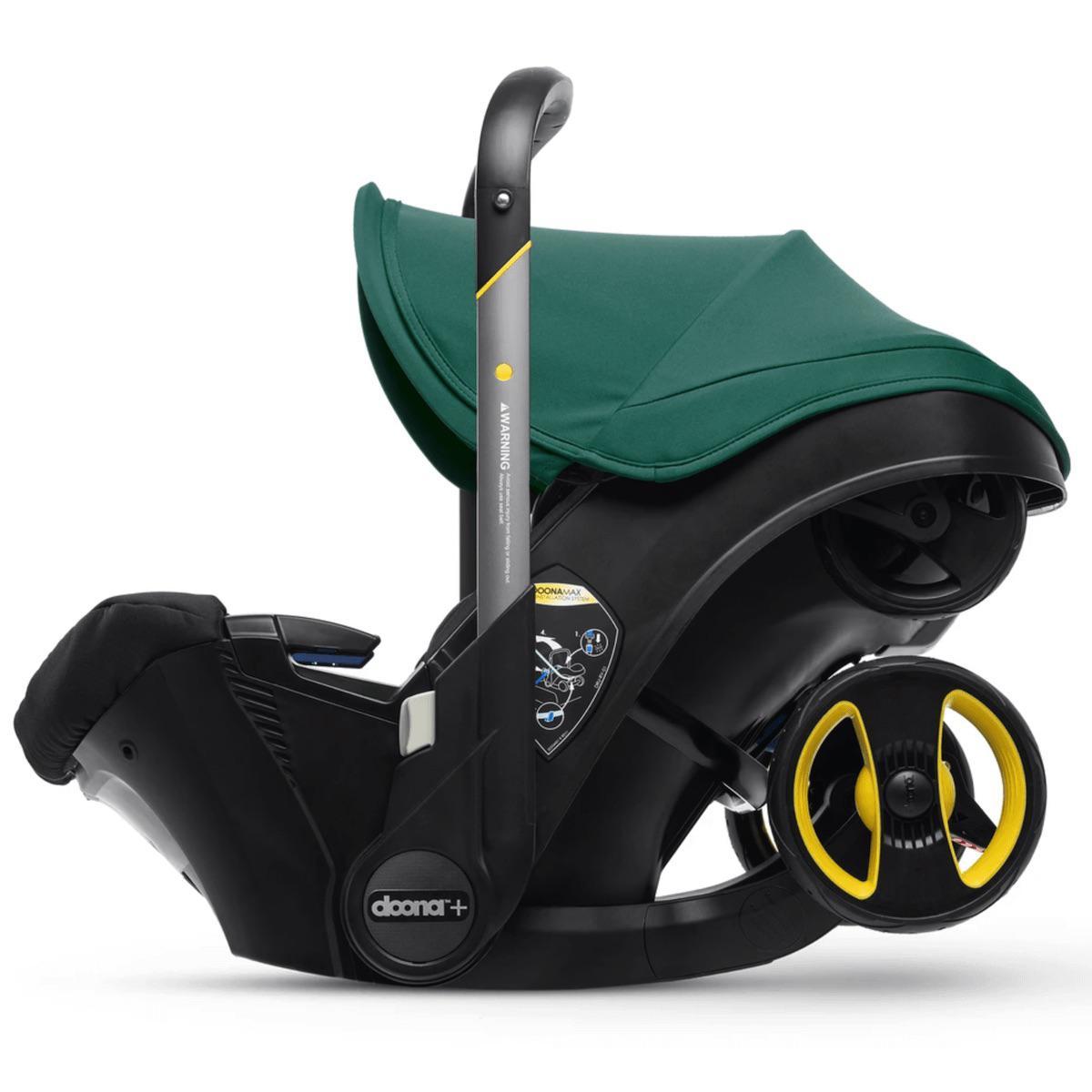 Siège-auto-poussette gr0+ Doona Racing Green