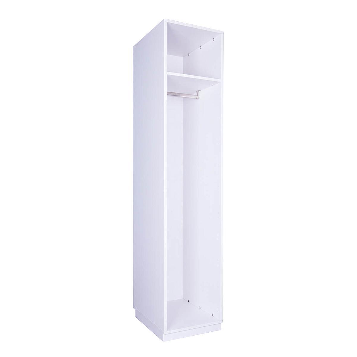Structure armoire 219x48cm DESTYLE de Breuyn blanc