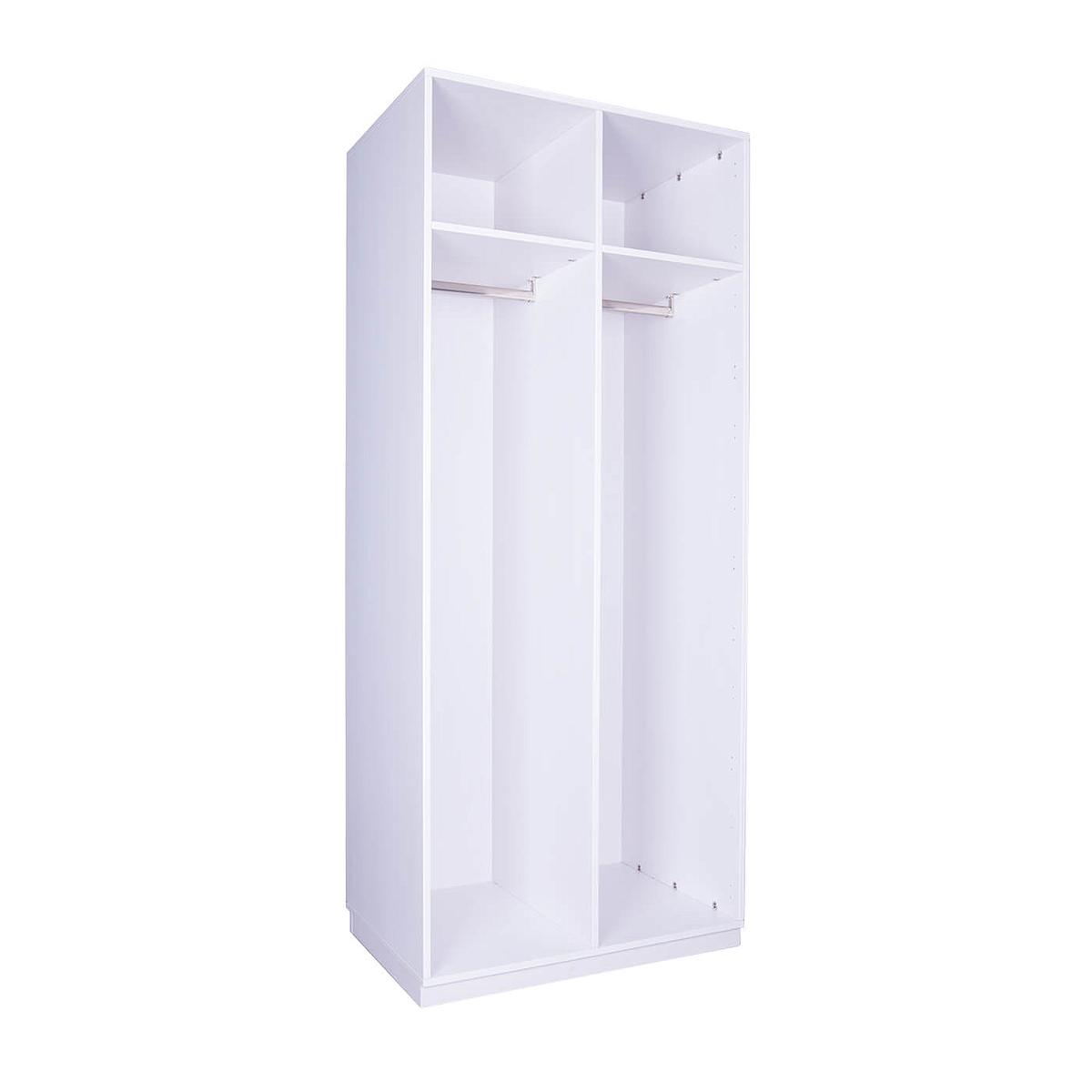 Structure armoire 219x93cm DESTYLE De breuyn blanc