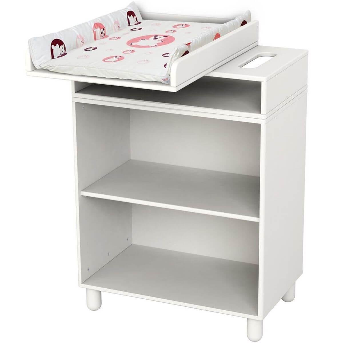 Table à langer bébé FLEXA BABY Blanc