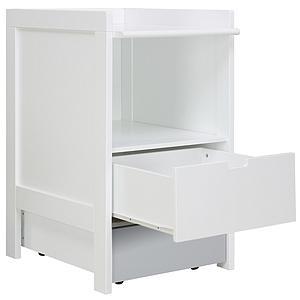 Table à langer-commode 1 tiroir small BABYFLEX Bopita blanc