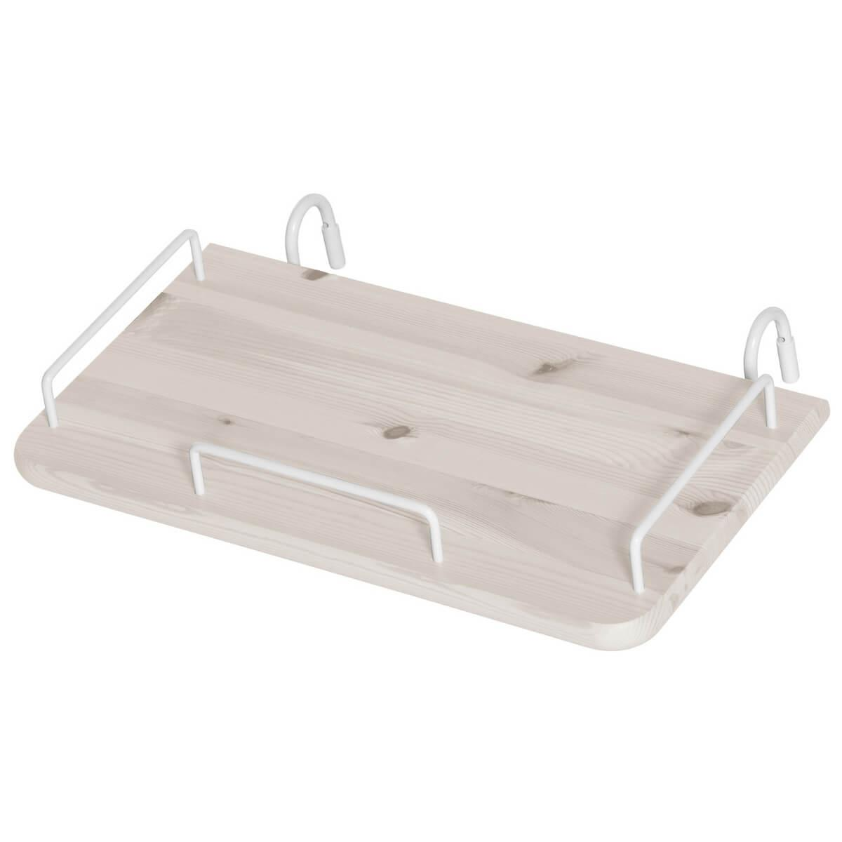 Table de chevet Flexa blanchi