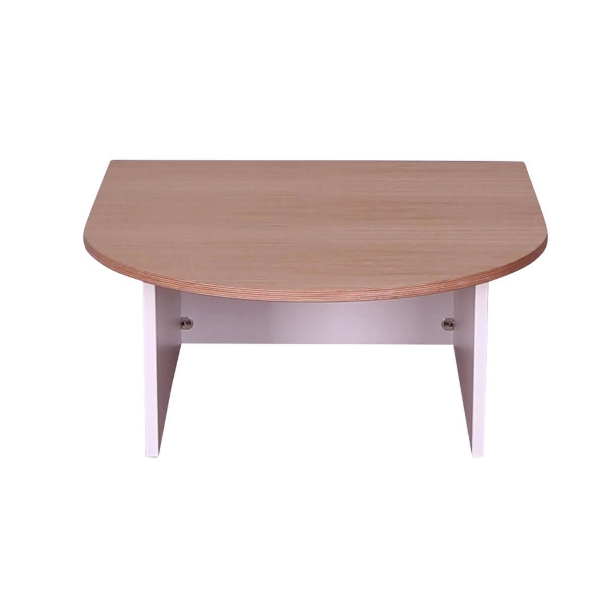 Table de jeu KASVA Multiplex placage chêne laqué blanc