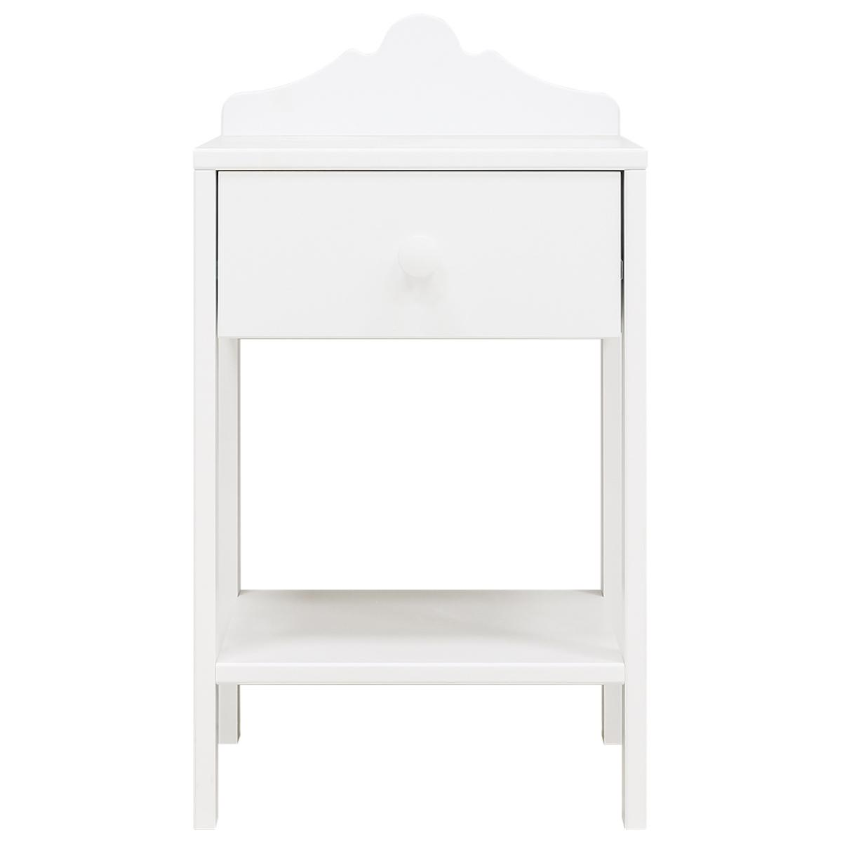 Table de nuit EVI Bopita blanc
