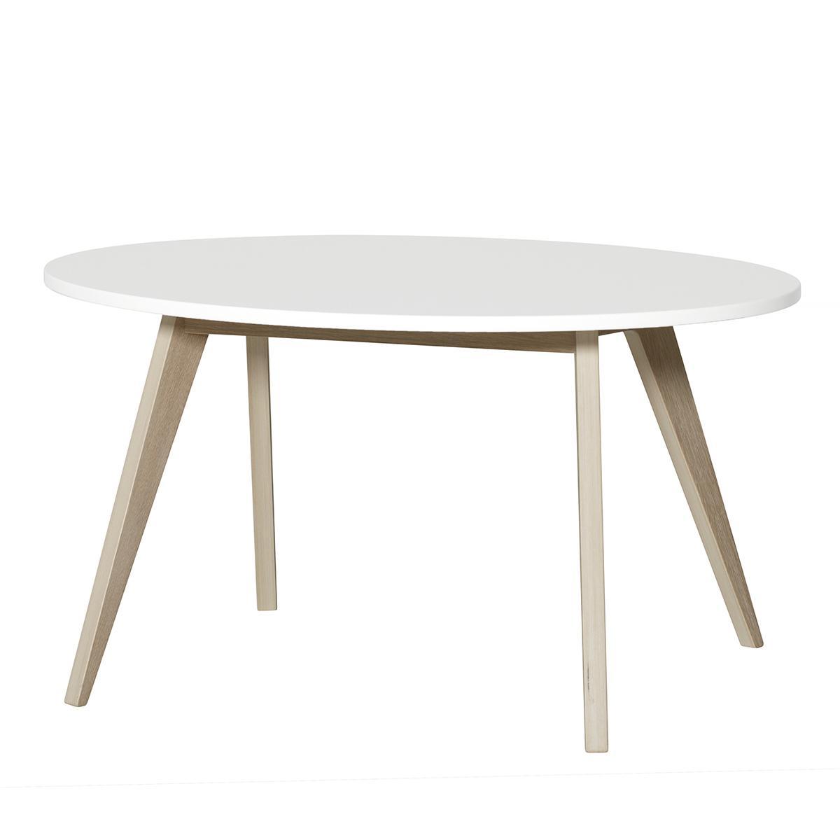 Table PingPong WOOD Oliver Furniture blanc-chêne