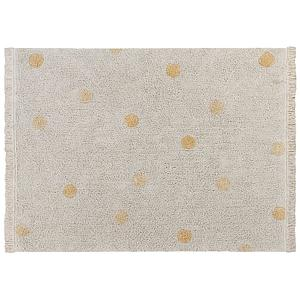 Tapis 120x160cm HIPPY DOTS Lorena Canals Natural-Honey