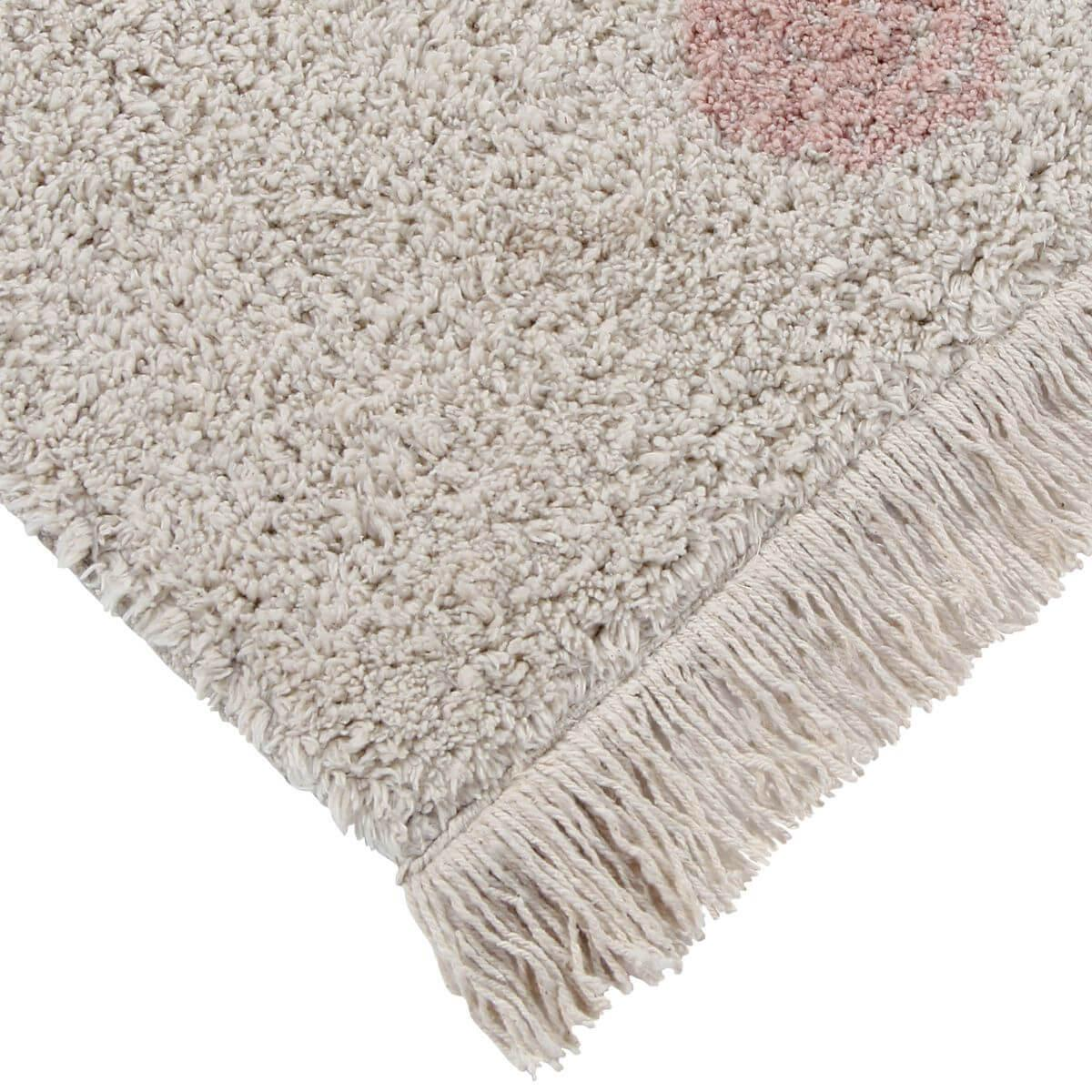 Tapis 120x160cm HIPPY DOTS Lorena Canals Natural-Vintage Nude