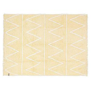 Tapis 120x160cm HIPPY Lorena Canals yellow