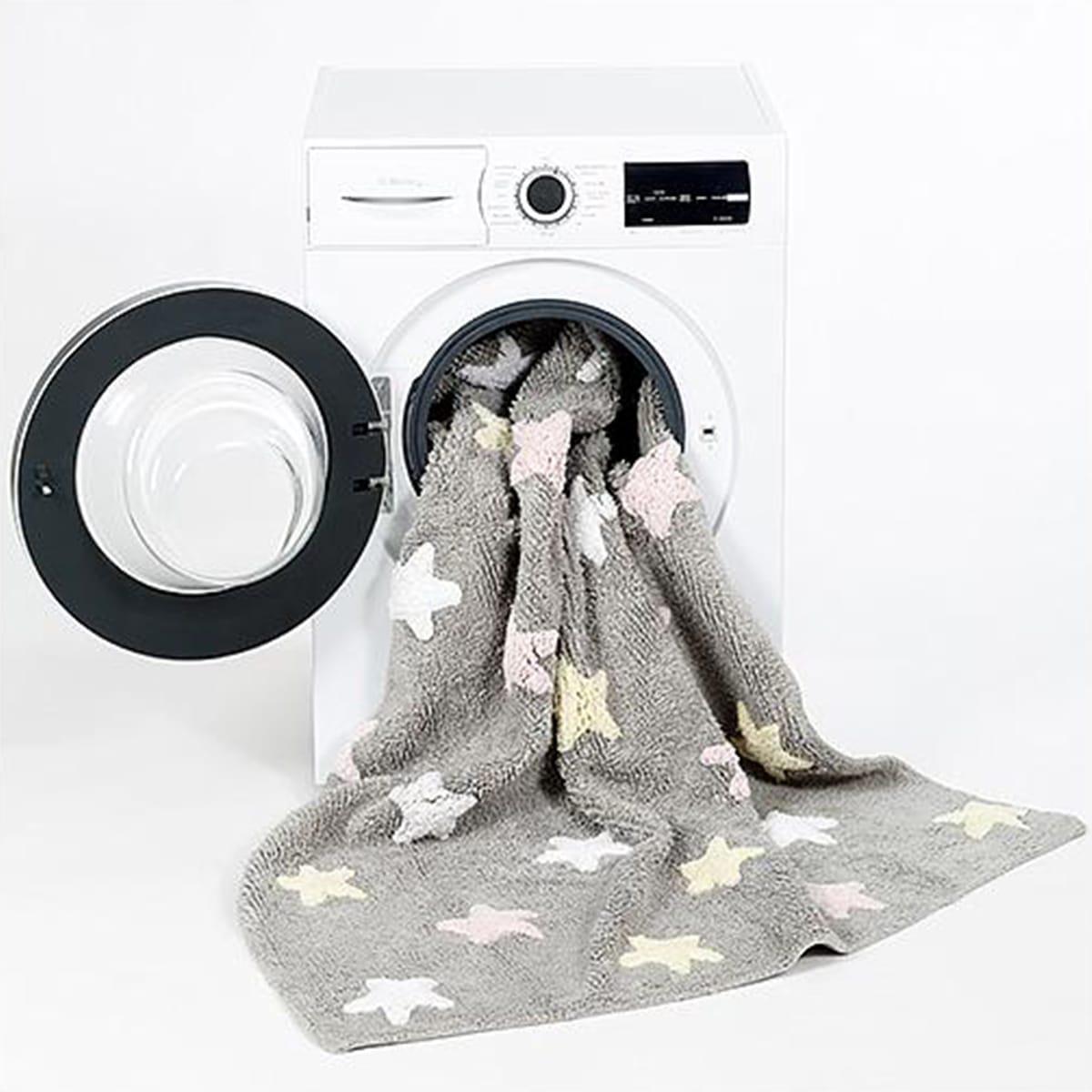 Tapis 120x160cm STARS Lorena Canals grey-pink