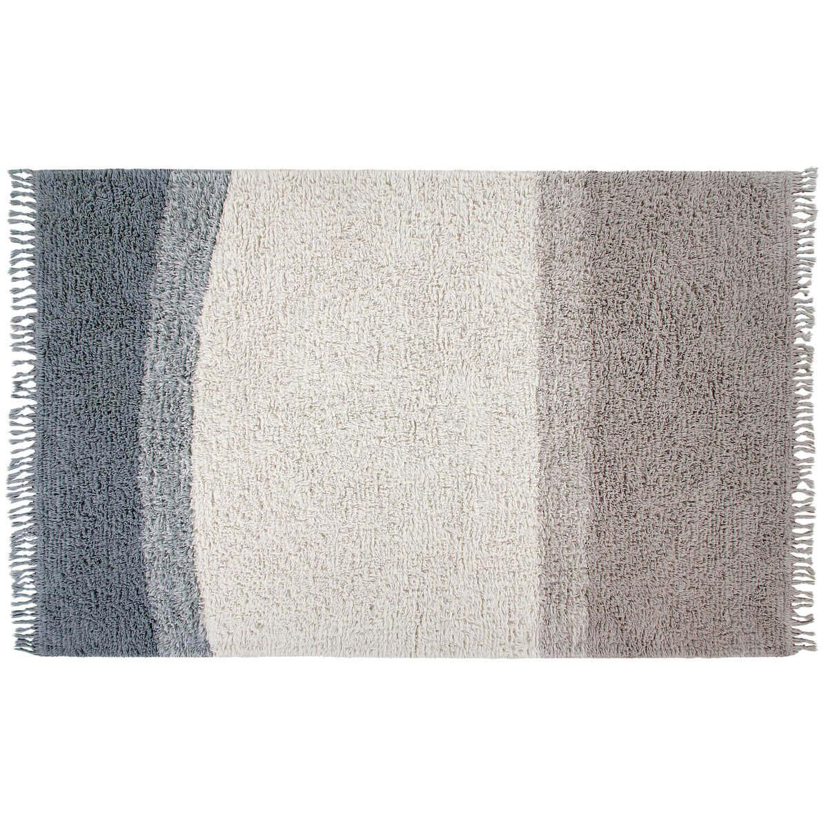 Tapis 200x140cm INTO THE BLUE Lorena Canals woolable