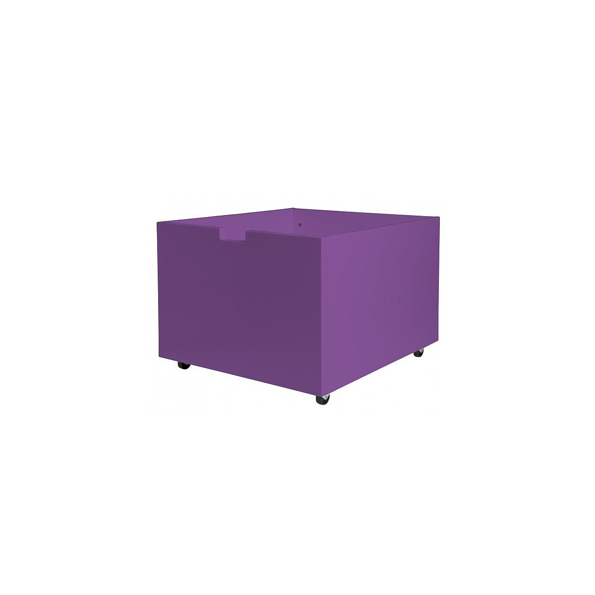 Tiroir à jouets-roulettes MIX & MATCH TIMO Bopita violet