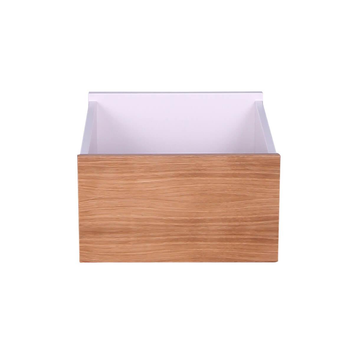 Tiroir armoire KASVA blanc-chêne