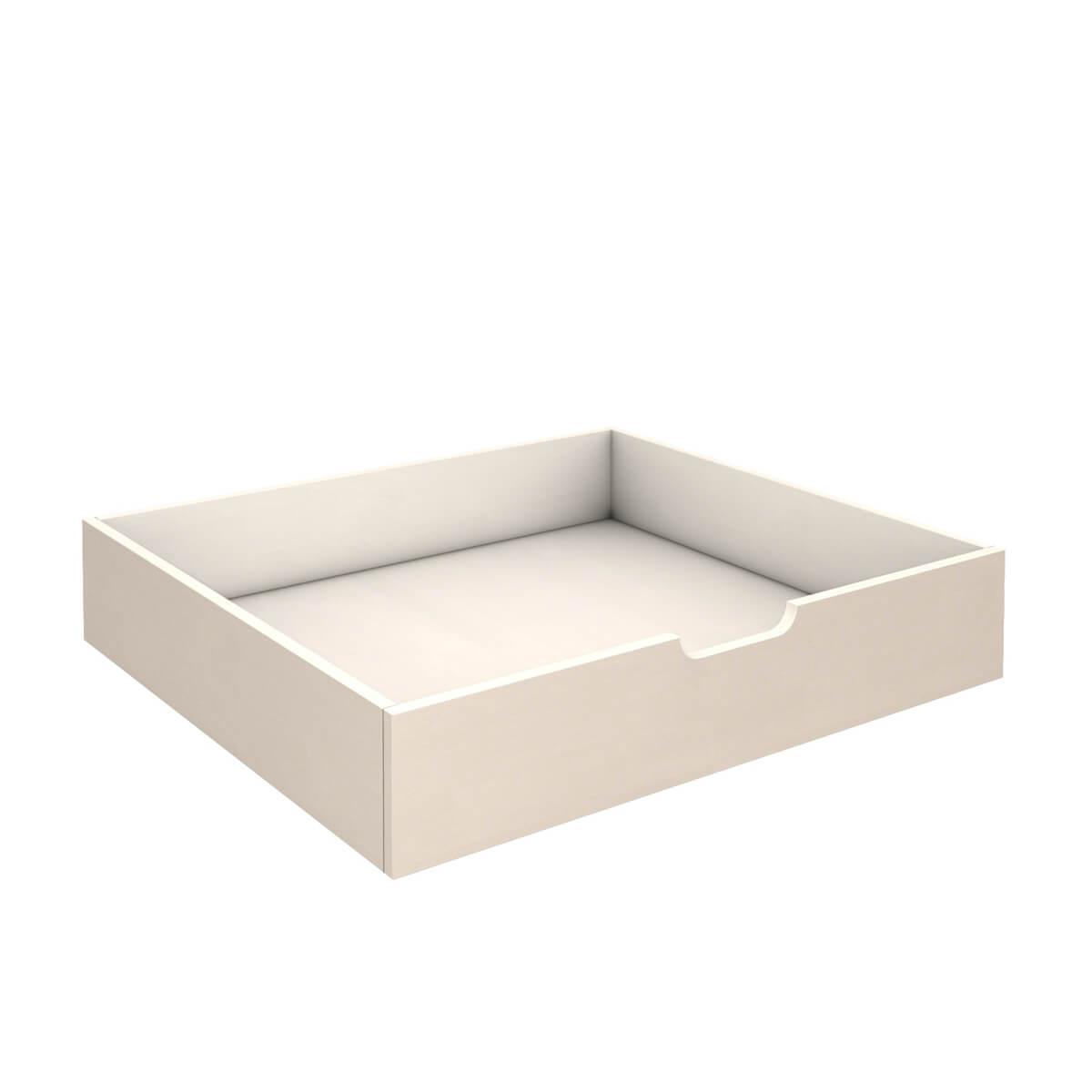 Tiroir de lit mi longueur DESTYLE de Breuyn blanc