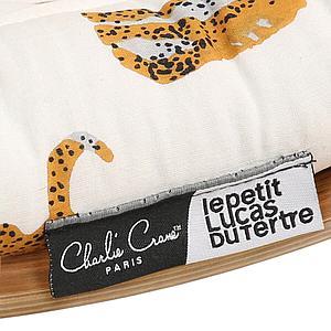 Transat bébé LEVO Charlie Crane noyer-Jaguar