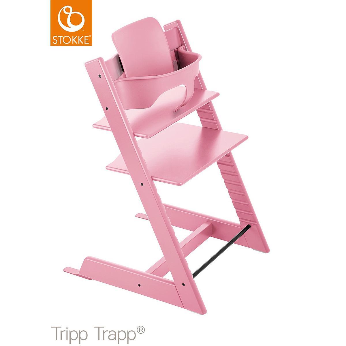 TRIPP TRAPP Babyset bébé STOKKE rose pale